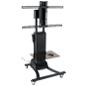 Height Adjustable Motorized TV Stand