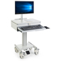 Medical Computer Cart, Wheeled Base