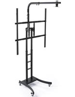 Black Whiteboard Display Stand