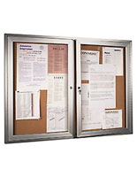enclosed display board