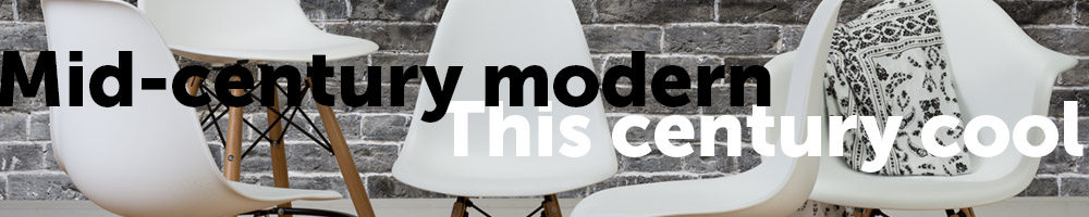 Head back in time to a period of great design innovation with Eames-style mid-century modern seating!