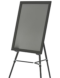 Easels with Poster Frames