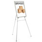 "Silver Easel Stand with 22"" x 28"" Snap Frame with Mounting Hardware"