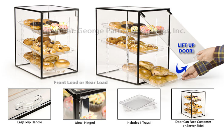 Countertop Bakery Display Cases : cases countertop acrylic cases pastry display cases acrylic pastry ...