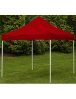 Red Event Tent