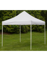 White Portable Canopy
