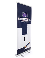 Custom replacement digital roll up banner for ecbnrlcd33