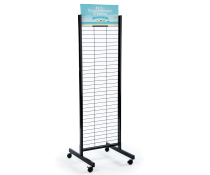 Double Sided Gridwall Stand