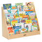 Wooden Children's Floor Standing Book Display