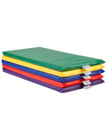 Children's Rainbow Rest Mat  with Easy to Clean Vinyl Covering