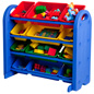 Children's Plastic Storage Organizer with Rounded Corners