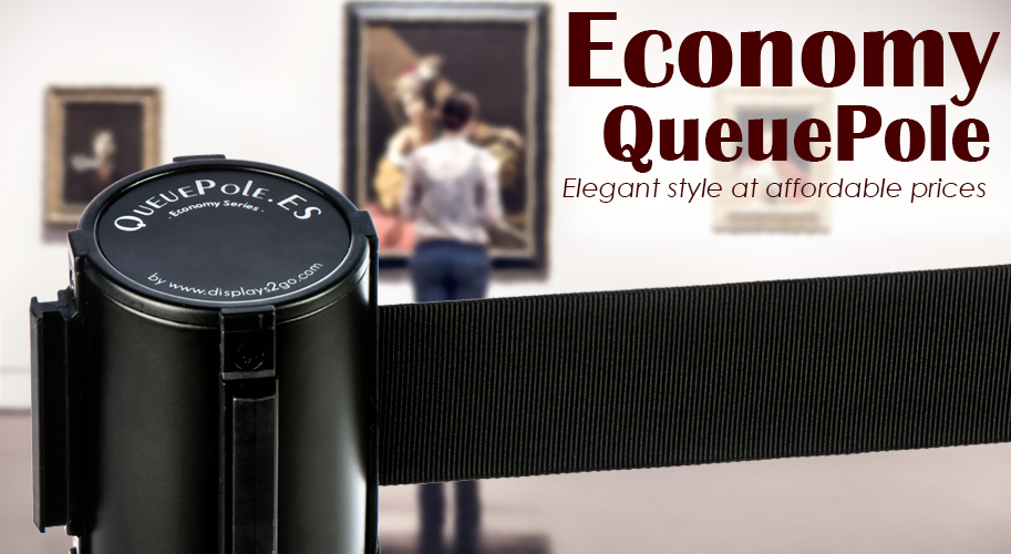 economy queuepole stanchions