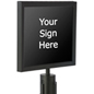 "14"" x 11"" Stanchion Sign Holder"