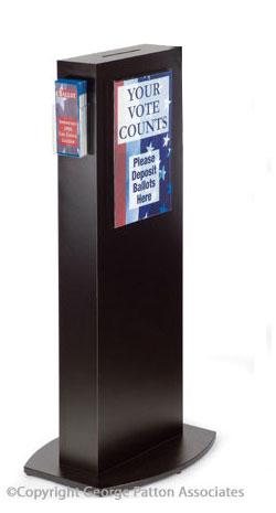 Floor Standing Comment Box Poster Frame Amp Side