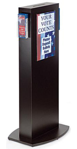 Floor Standing Hotel Key Drop Box