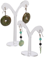 Clear Acrylic Earring Display