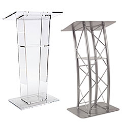 School podiums and lecterns
