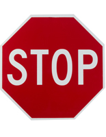 "18"" Stop Sign, Retroreflective"
