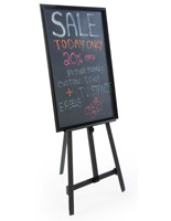 "24"" x 36"" Chalkboard with Aluminum Easel"