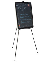 "22"" x 28"" Liquid Chalkboard and Aluminum Easel"