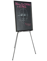 "24"" x 36"" Liquid Chalkboard and Aluminum Easel"