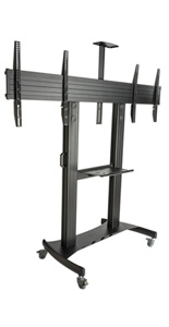 Dual Screen TV Stand, Floor Standing
