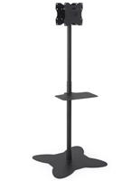 Dual Pole TV Stand for Retail Environments