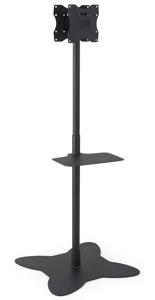 Dual Pole TV Stand for Promotions