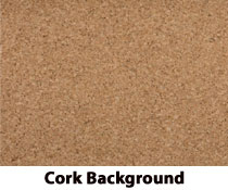 large cork board