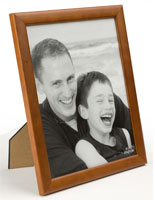 Picture Frame: Displays Pictures Vertically or Horizontally