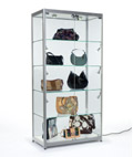 Silver Frame Display Cases