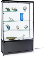 4' Wide Illuminated Display Case