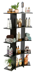 Etagere Bookcases with Open Shelving