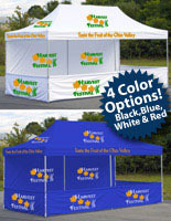 event canopy is sold in multiple sizes