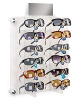 Sunglass Wall Rack