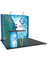 Custom Trade Show Booth with Lights
