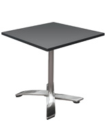 Folding Bistro Table with Scratch Resistant Top