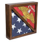 2-Flag Display Case for 5 x 9.5 Tri-Fold Banners