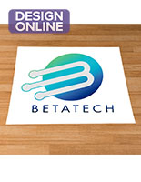 Trade show rectangular decal flooring sticker with custom artwork