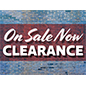 Eye-catching retail CLEARANCE floor decals