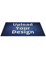 Custom decal rectangular flooring graphics with unique artwork