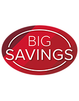 Indoor or outdoor removable BIG SAVINGS floor graphics
