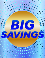 Blue Dots - Big Savings