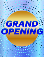 Blue Dots - Grand Opening