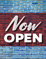 Brick - Now Open