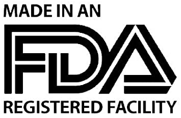 Made in an FDA registered facility