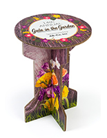 "25.25"" round custom printed cardboard branded party table"
