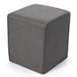 Cube ottoman seating for waiting rooms and educational facilities