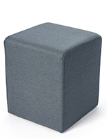 Square ottoman seating cube or footstool