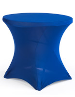 Table with Spandex Cover, Stretch Fabric